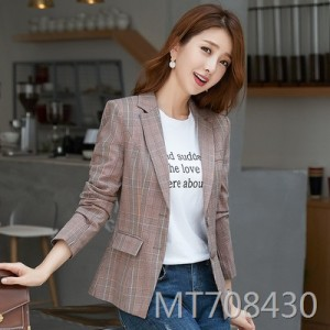 Autumn long-sleeved casual temperament slim slimming small suit short paragraph
