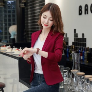 Korean version of the self-cultivation of the skinny casual suit jacket