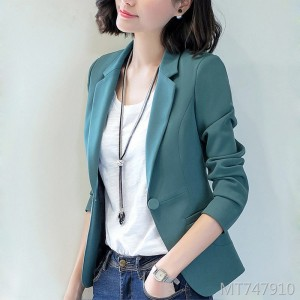 Fashion temperament casual ladies short slim slimming suit