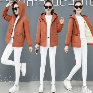 Short plus size casual Korean version plus velvet coat