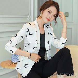 Temperament Slim Fashion Casual Casual Web Red Suit Top