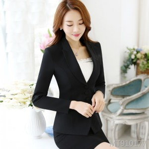 Waist casual slim slimming spring and autumn long-sleeved shrug small suit