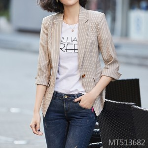 Retro short small fragrance chic suit blouse