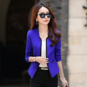 Casual one button small suit jacket women's short suit short jacket