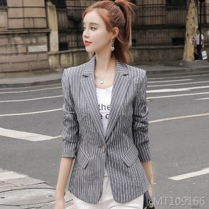 Casual fashion port wine retro chic coat top