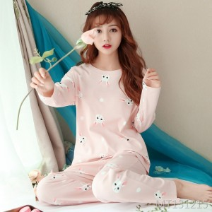 Korean sweet and cute cartoon home service suit