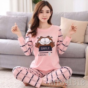 Cotton ladies cute home service two-piece suit women can go out to leisure