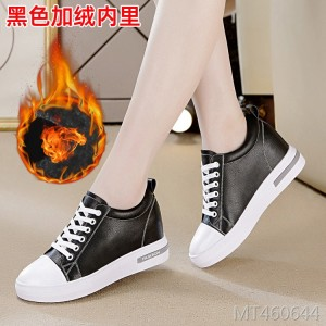 Flat bottom casual increase single shoes platform shoes