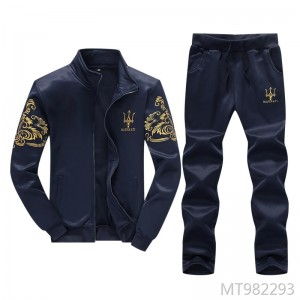 Spring and Autumn Sports Maserati Set Casual