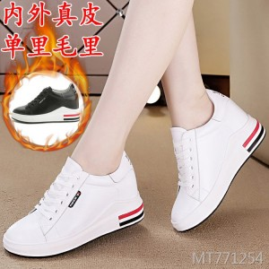 Women's shoes new increase with single shoes cotton shoes women