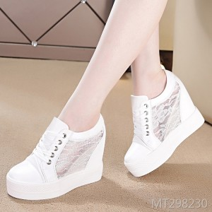 New platform casual sports shoes with high heel