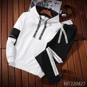New men's sweater sports suit autumn