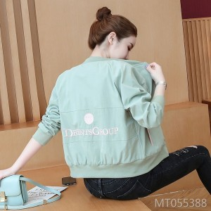 Embroidered Long Sleeve Autumn Joker Jacket Baseball Jacket Jacket Women