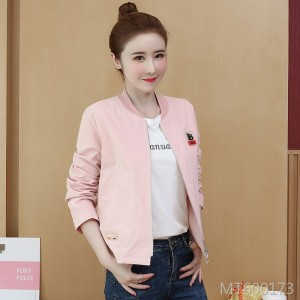 Korean version of the early autumn wild loose jacket casual baseball uniform