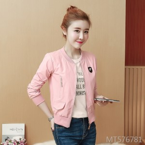 Korean fashion wild women's short jacket jacket female tide