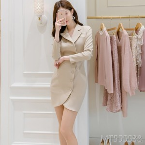 Celebrity fashion simple temperament goddess fan clothes intellectuality
