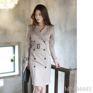 Practical workplace women's intellectual simple skirt formal occasion ladies fashion