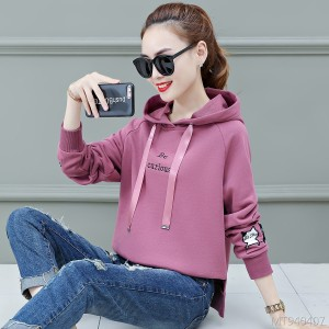 Coat loose bf lazy wind spring and autumn hooded shirt tide ins
