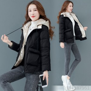 2019 new large size thin fashion short jacket small cotton jacket