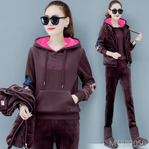 2019 new fashion autumn and winter casual sportswear suit