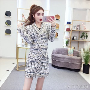 New short jacket skirt two-piece suit