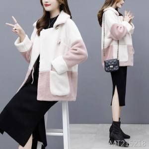 Lamb hair short fur one Korean version of imitation fur coat