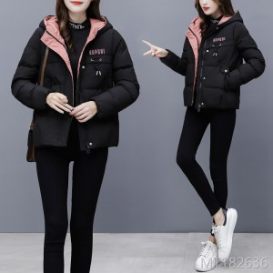 Korean version of loose short cotton coat ladies small cotton jacket coat tide