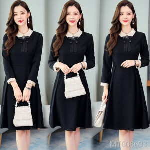New Thin Temperament Doll Collar Bottoming Skirt