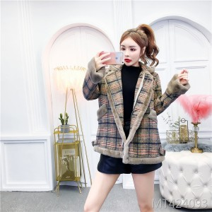 Women's Korean style loose cotton coat