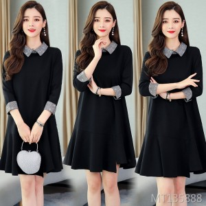 New skirt women's spring and autumn models were thin temperament bottoming skirt