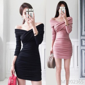 Waist Slim Shoulder Bottoming Package Hip Dress Off-Shoulder Tube Top