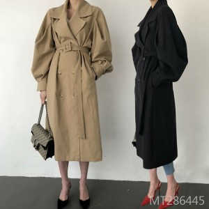 Korean popular loose casual British style coat