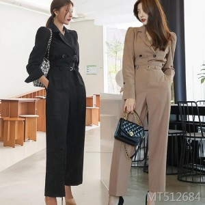 New two-piece suit female high-cold Yujiefeng professional suit