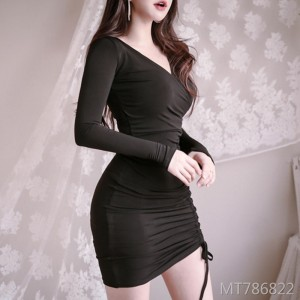 Was thin sexy chic ladies package hip tight dress