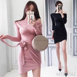 Slim Fit Slim Knit Dress