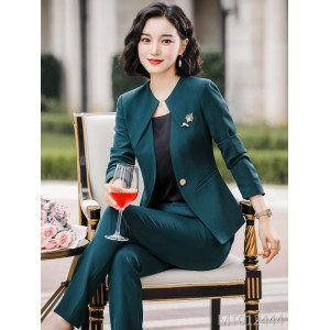 Fall / winter 2019 new fashion high-end professional suit