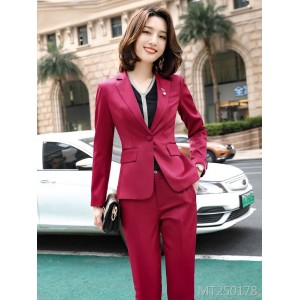 Temperament British style work clothes professional suit