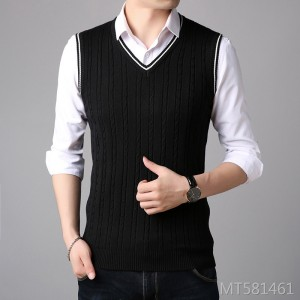 Fashion Casual Korean Slim V-neck Student Vest