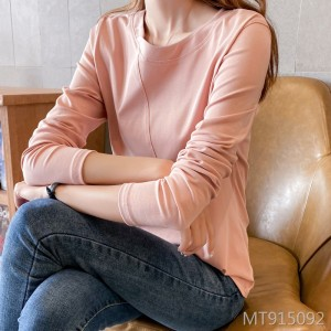 2020 spring women's cotton long-sleeved t-shirt women's inner top