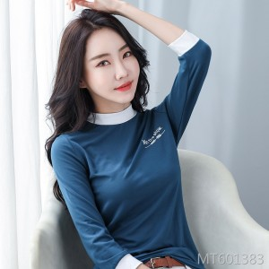 2020 spring modal seven-point sleeve bottoming shirt long sleeve t-shirt women