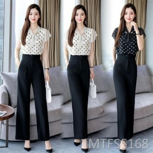 2020 Chiffon Shirt Two-piece Set