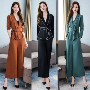 Temperament and western style personality is thin and slim Slim elegant dignified age-reducing set