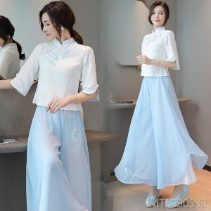 Elegant and fresh dress suit hanfu top