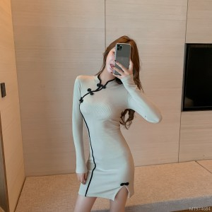 Improved cheongsam base dress