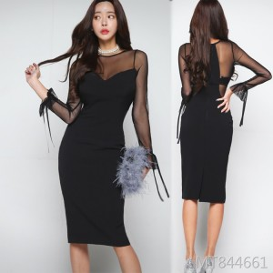 Fan Shuo fashion temperament dress dress