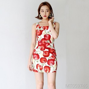 Summer new style sweet temperament wild camisole vest long