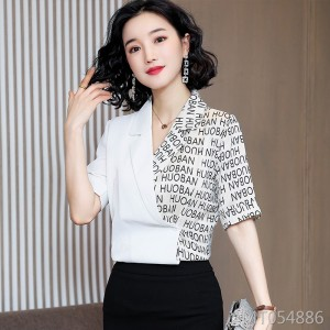 European goods simulation silk shirt women new