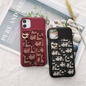 iPhone11 mobile phone case letter embroidery spot