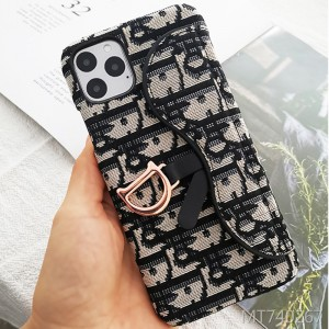 Apple case for iPhone11 phone case letter embroidery
