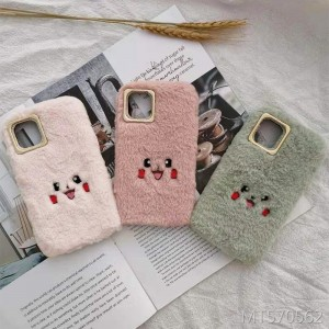 Applicable OPPOR17 plush mobile phone case Reno cute R11 autumn and winter